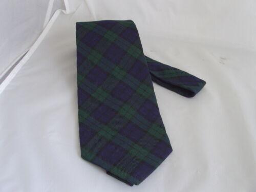 """Le Cravatte da Uomo Tartan-Cravatta 3.5/"""" = 9 cm larghezza-con o senza corrispondenza Fazzoletto"""