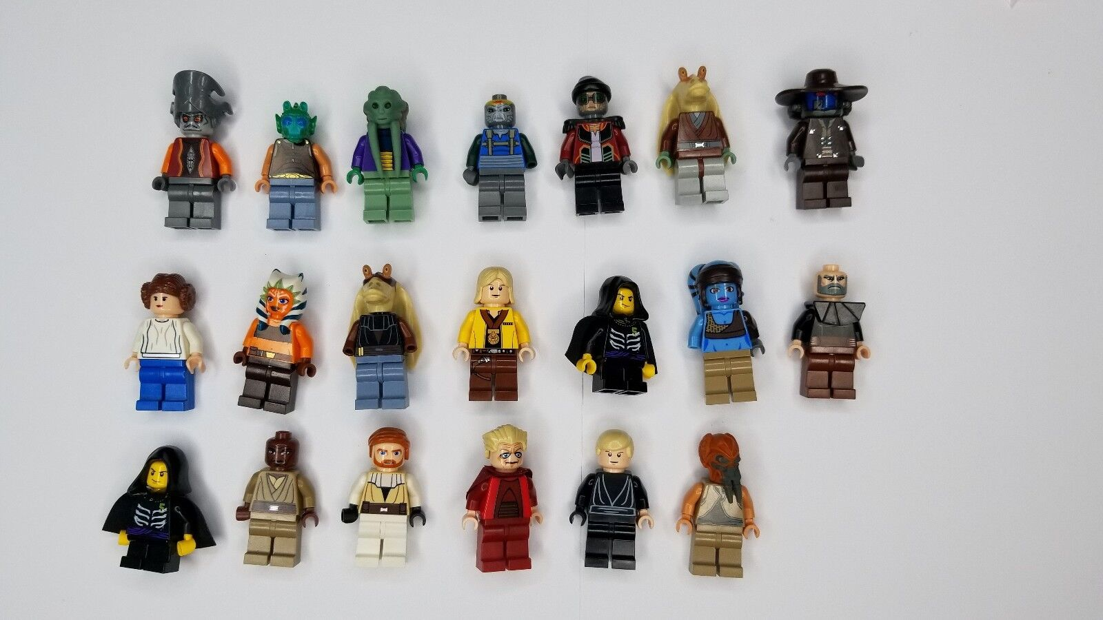 Lego Star Wars Varied Minifigures