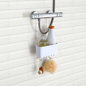 Häufig Duschablage ohne Bohren Duschregal Duschkorb Badregal Badablage WH15