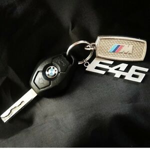 Details About Bmw E46 Key Chain Stainless Steel