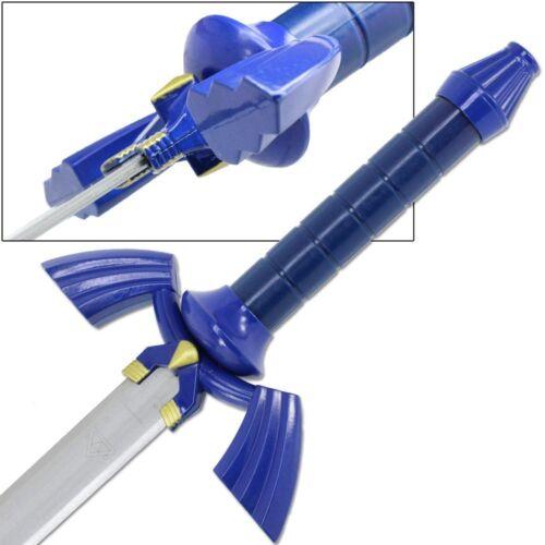 Legend of Zelda Complete Link Cosplay Set Master Sword Shield Belt Steel Leather