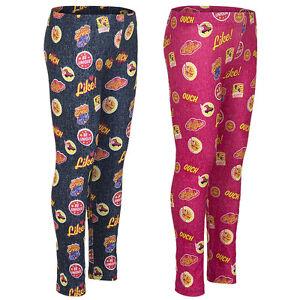Mode-Design günstigen preis genießen Beförderung Details zu Leggings Sporthose Mädchen Leggins Hose Soy Luna pink blau Gr.  116 128 140 152