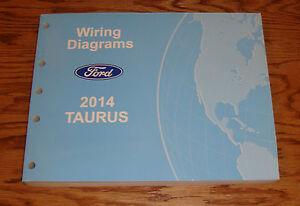 Original 2014 Ford Taurus Wiring Diagrams Manual 14 | eBay