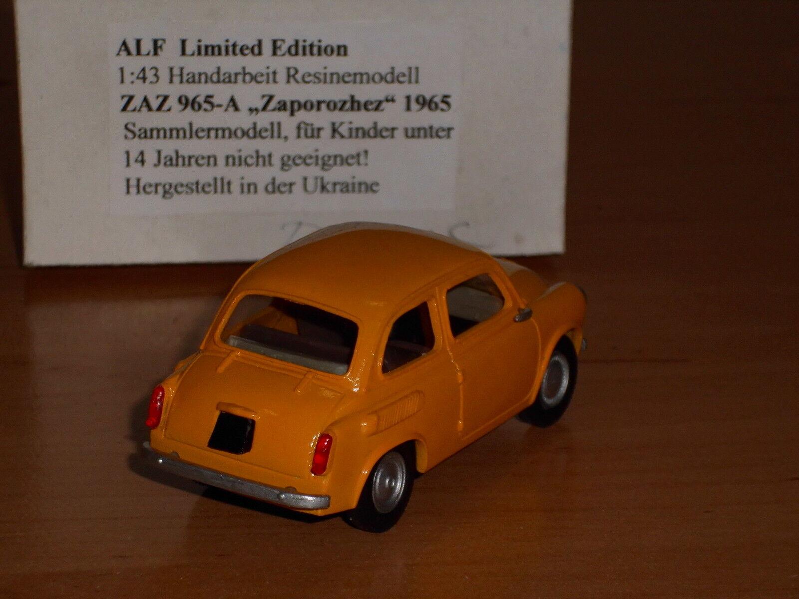 Zaz-965 zaporozhez, zaporozhez, zaporozhez, 1,43, modelo a mano. 1618af