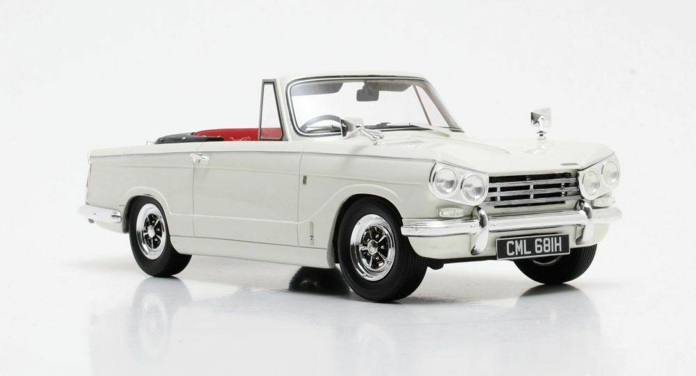 Cult Scale Models-Triumph vitesse Open DHC Blanc RHD 1 18 Scale Precision