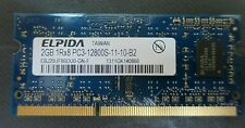 Laptop memory,  2GB DDR3, PC3-12800, SODIMM 1600MHz, 204-pin