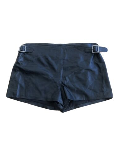 L'agence Leather Shorts Size 27
