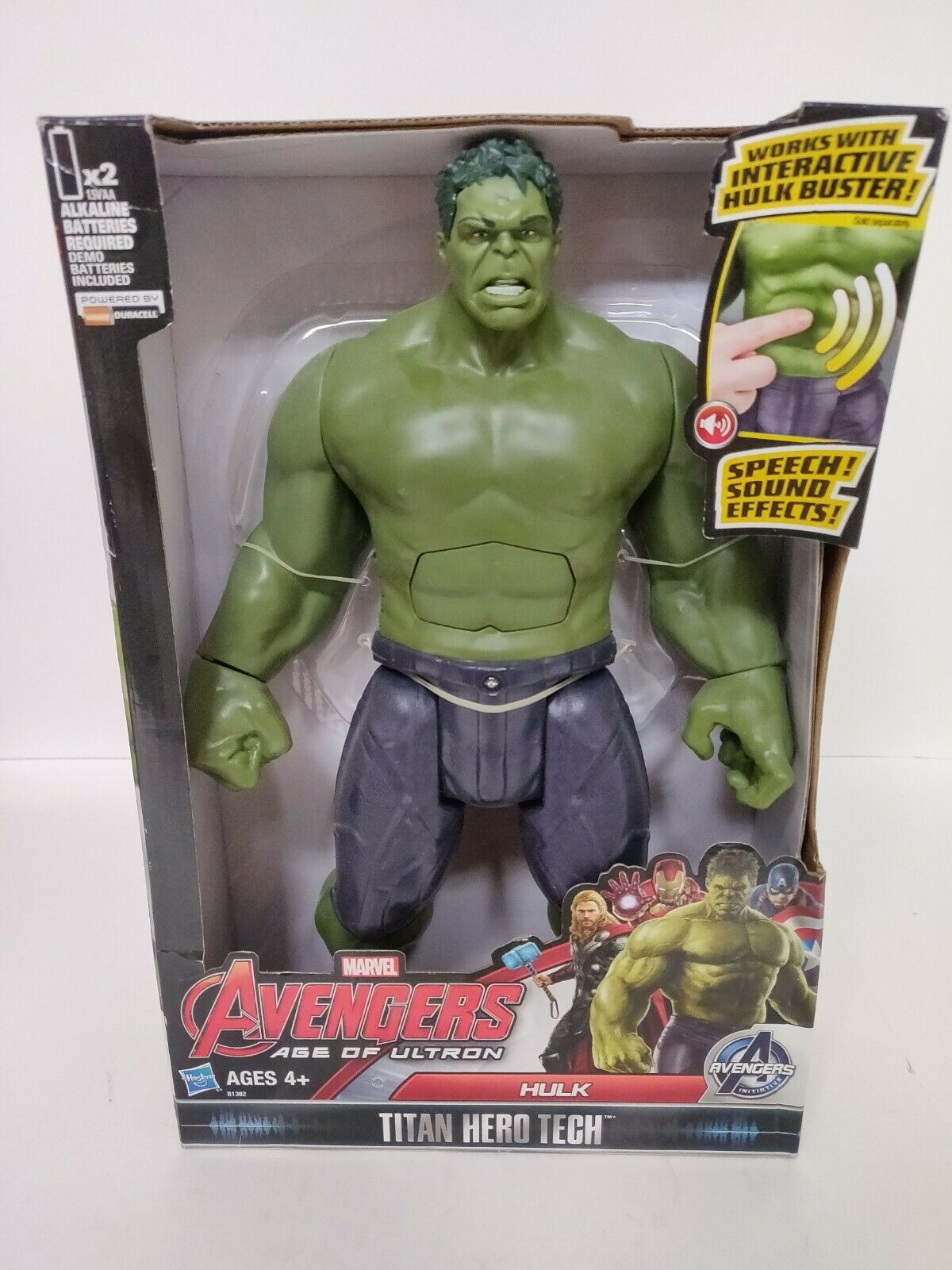 Hulk  cifra - Marvel Avengers Age of Ultron Titan Hero Tech  migliore offerta