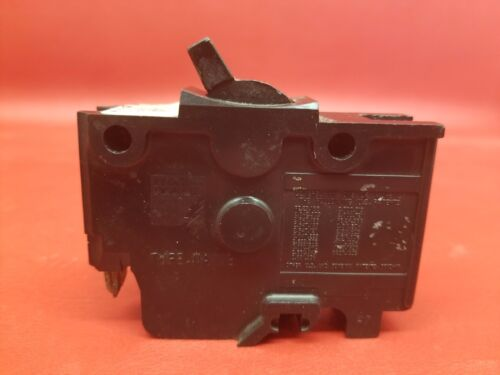 """Lot of 2-20 Amp Federal Pacific Stab-lok 1 Pole 1/"""" Thick type NA Breakers NICE"""