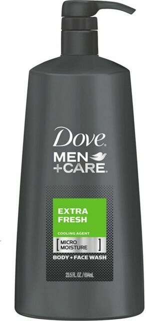 Dove Men Care Body And Face Wash Extra Fresh 23 5 Oz 3pk T1 For Sale Online Ebay