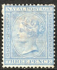 South-Africa-Natal-1874-blue-3d-crown-CC-perf-14-mint-SG68