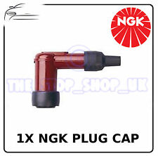1x NGK Red Spark Plug Cap To Fit Honda ST70 Dax 1973-1997 - SPC6NA56