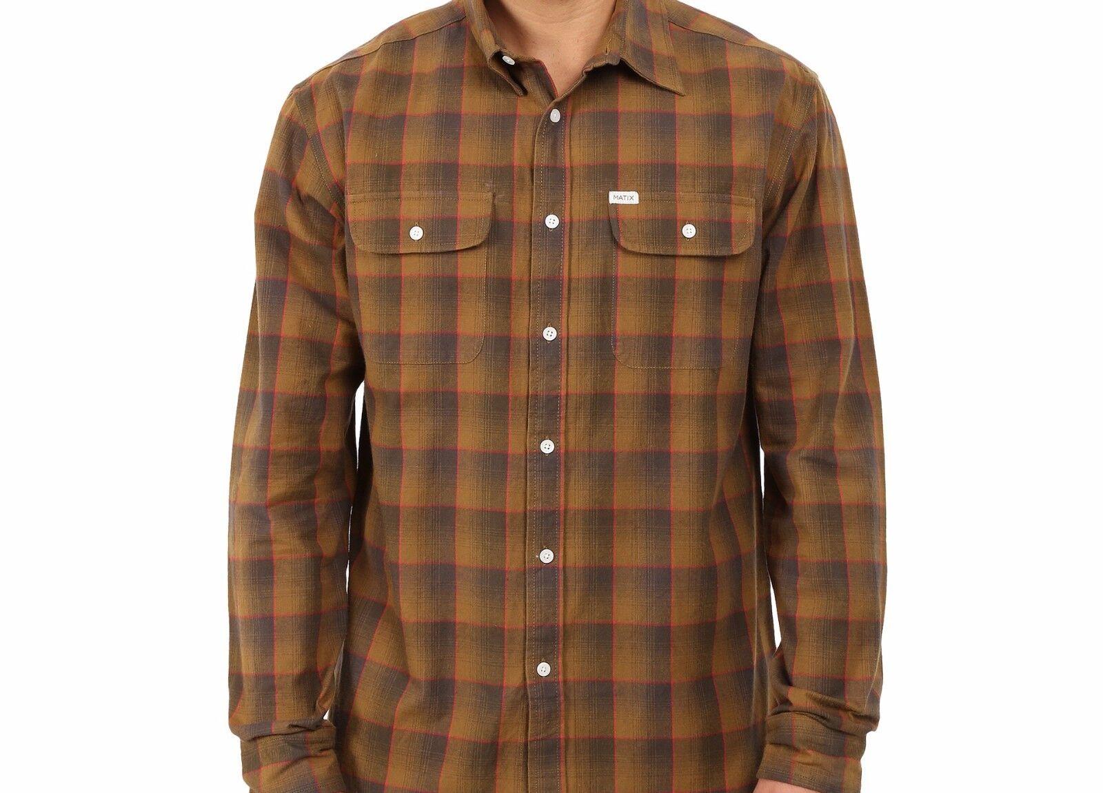 MATIX Wesson Flannel Shirt (L) gold