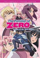 The Familiar Of Zero . Season 2 . Knight Of The Twin Moons . Anime . 2 DVD NEU