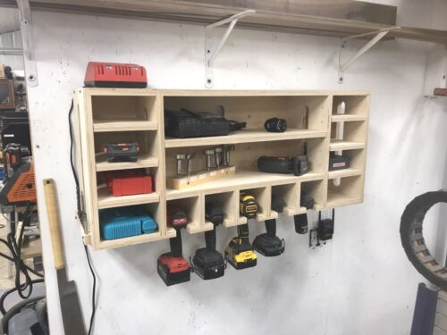 Drill Storage Charging Station