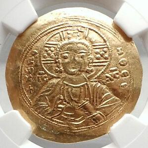 MANUEL-I-Comnenus-1143AD-JESUS-CHRIST-Ancient-Gold-Byzantine-Coin-NGC-i75095