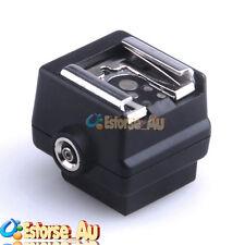 Flash Hotshoe Adapter Converter For Sony Camera to Canon Nikon Flash PC Socket