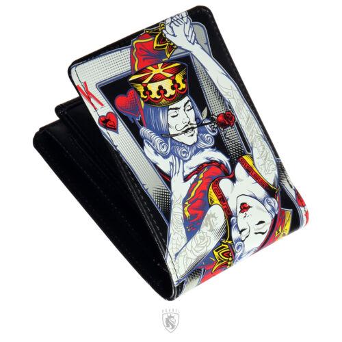 OGABEL OG Abel Clothing Dance Cards Hot King Tattoo Art Colored Wallet WTBF001