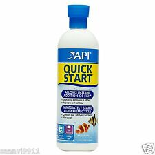 API Quick Start Water Conditioner for Aquariums - 473 ml - Exp Date - Jan 2018