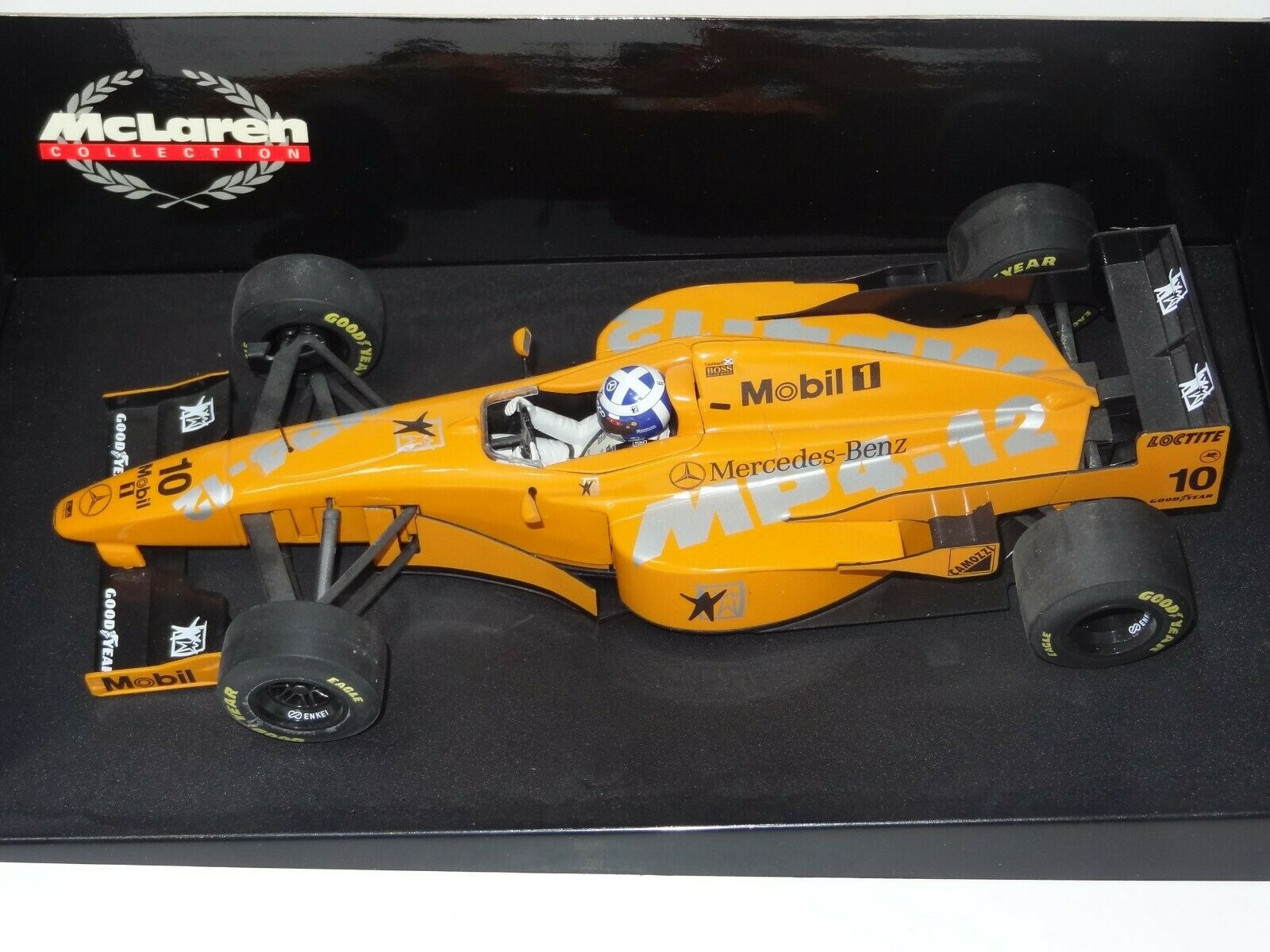 (W) PAULS MODEL ART MINICHAMPS 1 18 F1 MCLAREN TESTCAR MP 4 12 D COULTHARD boxed