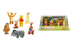 Authentic-Disney-Store-Winnie-The-Pooh-7-Piece-Figurine-Playset-Cake-Toppers