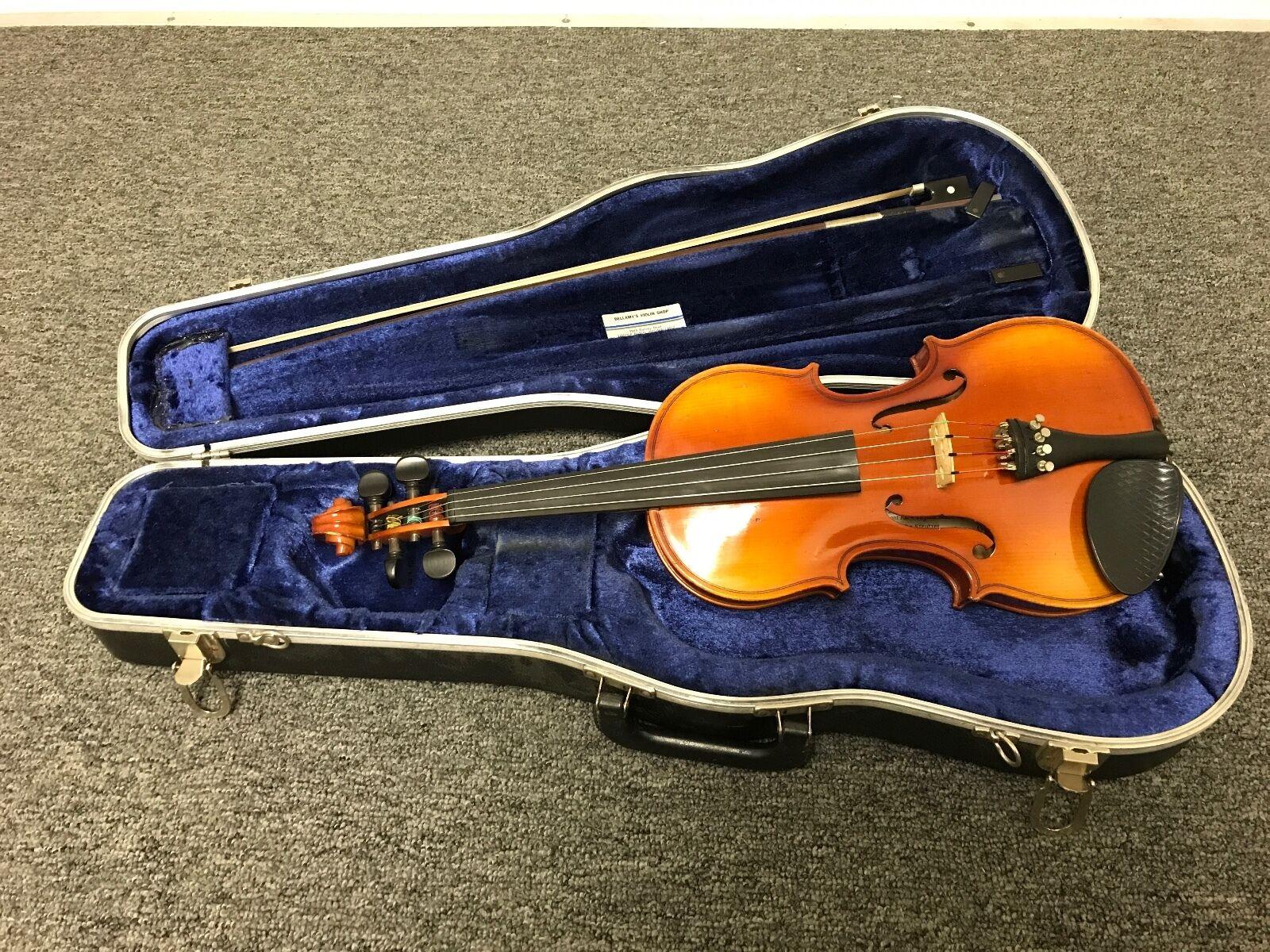 Rudolphe Kreutzer 100 German 3 4 Violin Ready To Play