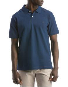 NEW Reserve Essential Plain Polo Blue
