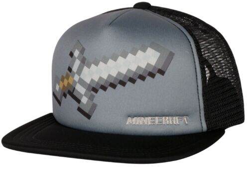 Official Minecraft Kids Childrens Minecraft Baseball Caps Summer Snapback Hats