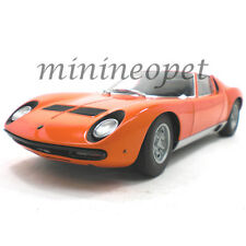 AUTOart 74542 LAMBORGHINI MIURA SV 1/18 DIECAST MODEL CAR ORANGE