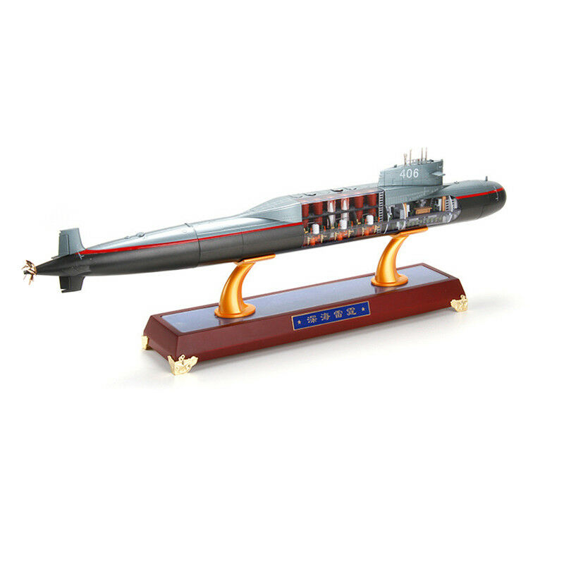 1 200 Scale 092 Missile Nuclear Submarine Metal Static Model Decoration House