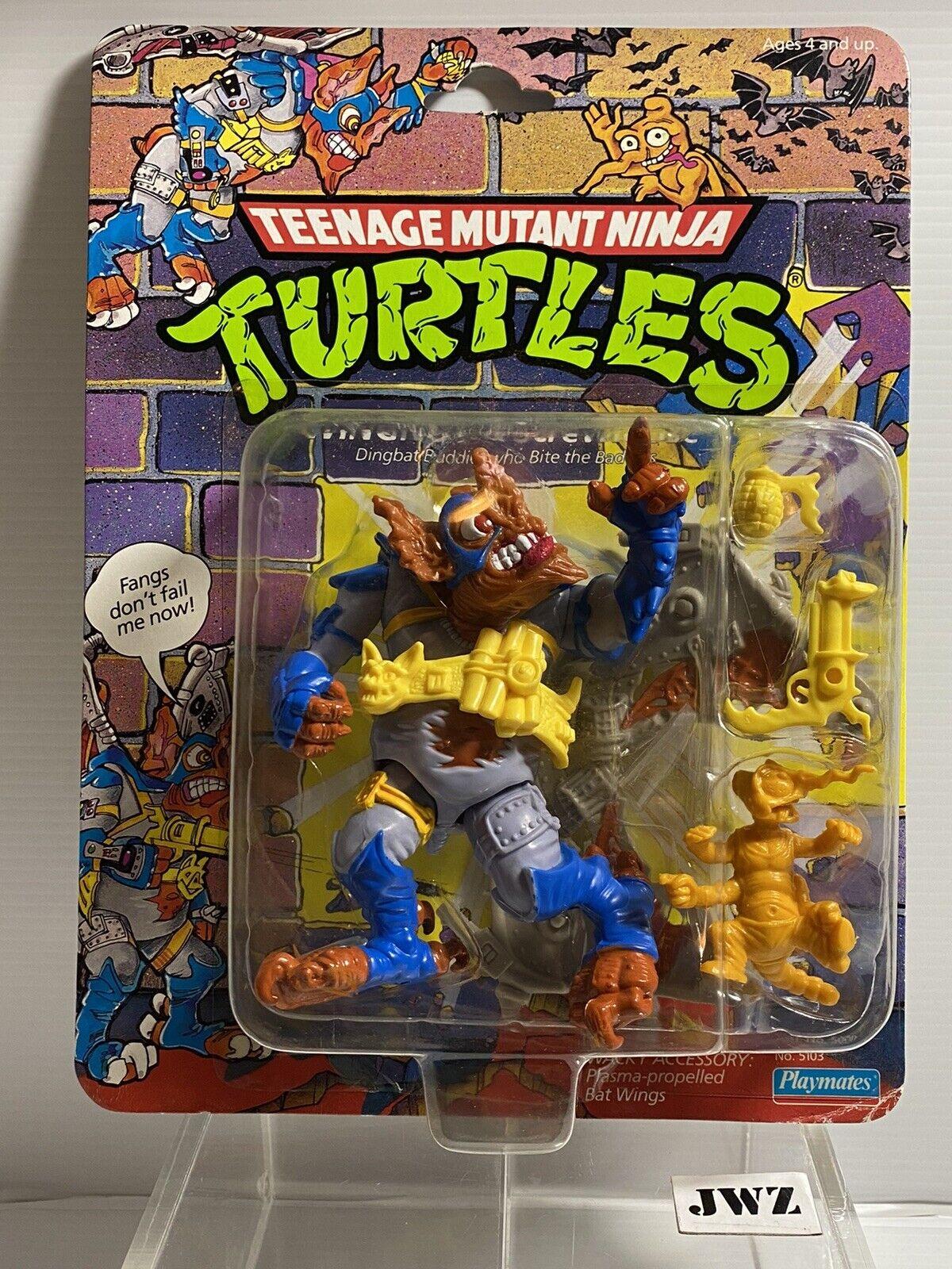 WINGNUT & SCREWLOOSE - Original Teenage Mutant Ninja Turtles - MOC - NEW