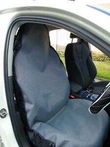 i - TO FIT A MAZDA 5 CAR, SEAT COVERS, SILVER FLECK GREY WATERPROOF