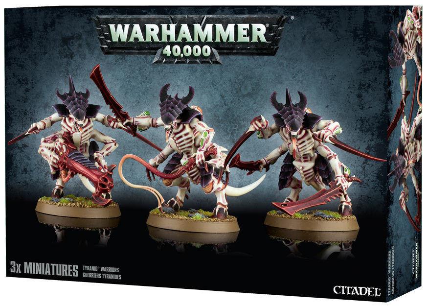 Tyranids guerrieri   tyranid warhammer 40k 40.000 zitadelle.
