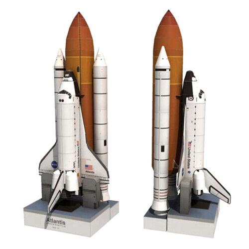 150 Shuttle Atlantis Puzzle Handmade Rocket for ZT 3D Paper Model Papercraft 1