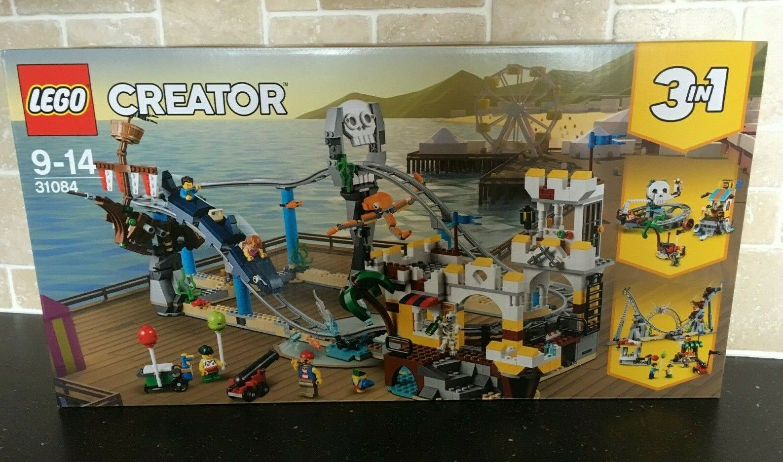 LEGO CREATOR - 31084 Pirate Roller Coaster (3 in1) Brand New In Sealed Box