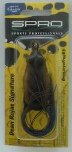 Spro SBEF65RDER Bronze Eye Frog 65mm 5/8 Oz Color RDER Red Ear 21448