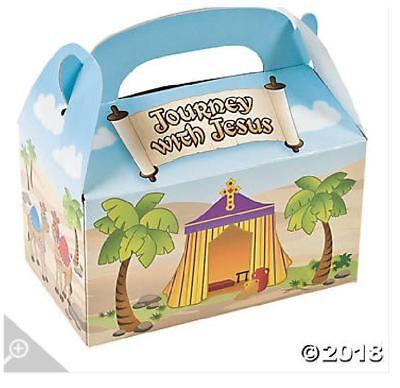 G33 Jesus Religious Treat Boxes Loot Bag