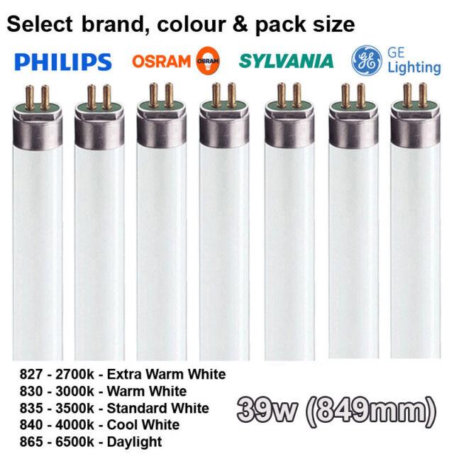 39w 849mm T5 Tubo Fluorescente - Colores: 827 830 835 840 865 - Elección de