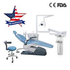 New Listingdental Unit Chair Computer Controlled Hard Leather Fda Ce Integral Tj2688 A1 Kit