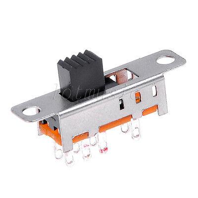 10pcs SS23E04-G5 3 Position 2P3T slide switch