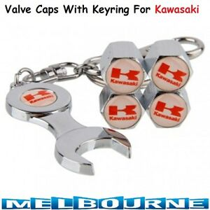 For-Kawasaki-Logo-Emblem-Wheel-Tyre-Tire-Valve-Air-Dust-Cover-Screw-Caps-Gift-Bi