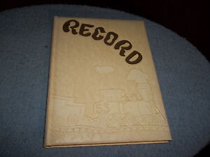 1953-VINELAND-HIGH-SCHOOL-YEARBOOK-VINELAND-NJ-034-RECORD-034