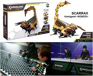 Details about Kamigami Scarrax Battle Robot Kit (Build Program Play) Use  Android Apple Control