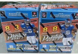 2021 Panini Prestige Football Blaster Sealed 8 Packs 8 Cards Per Pack LOT OF 2🔥