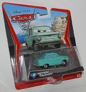 DISNEY PIXAR CARS 2 PETROV TRUNKOV  #18 TOY CAR