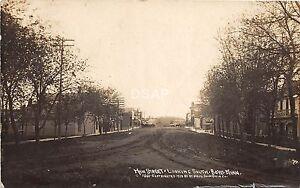 C81-Boyd-Minnesota-Mn-Real-Photo-RPPC-Postcard-1910-Main-Street-Stores-Homes