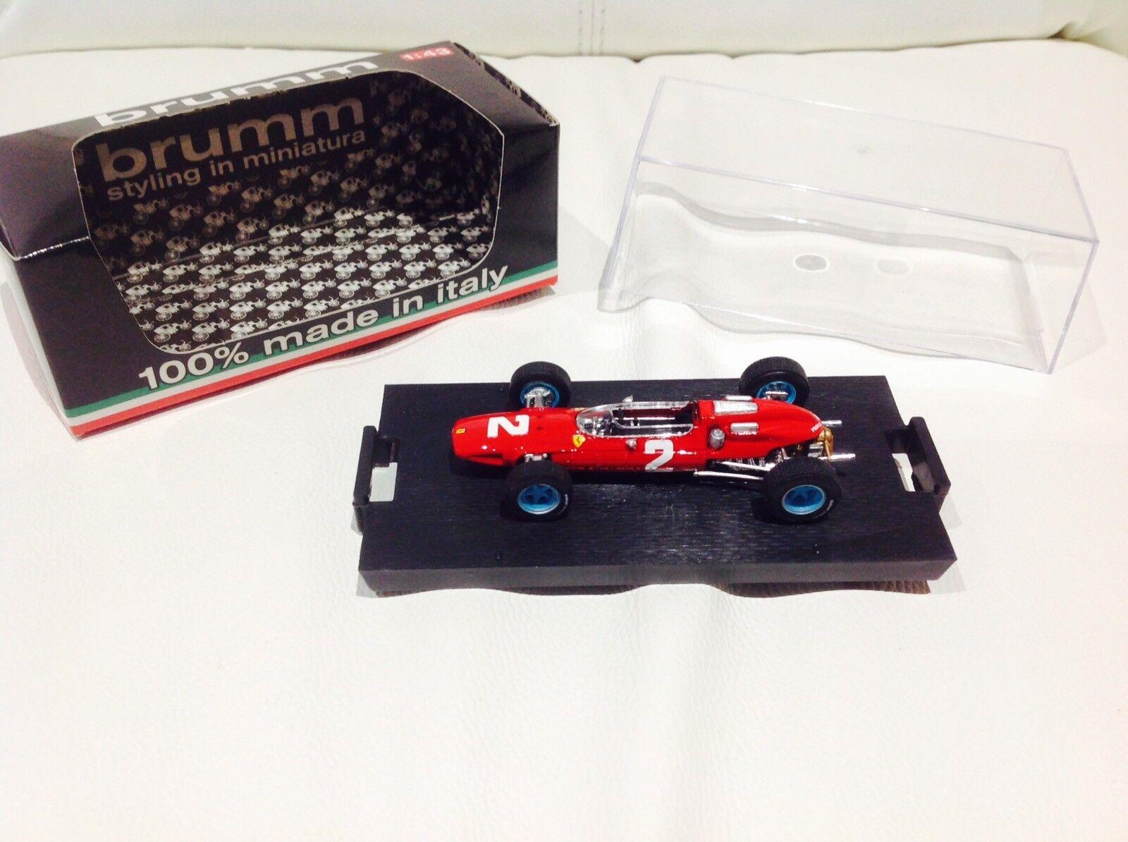 Brumm R290 Ferrari 158 Italian GP 1964 - John Surtees World Champion 1 43 Scale