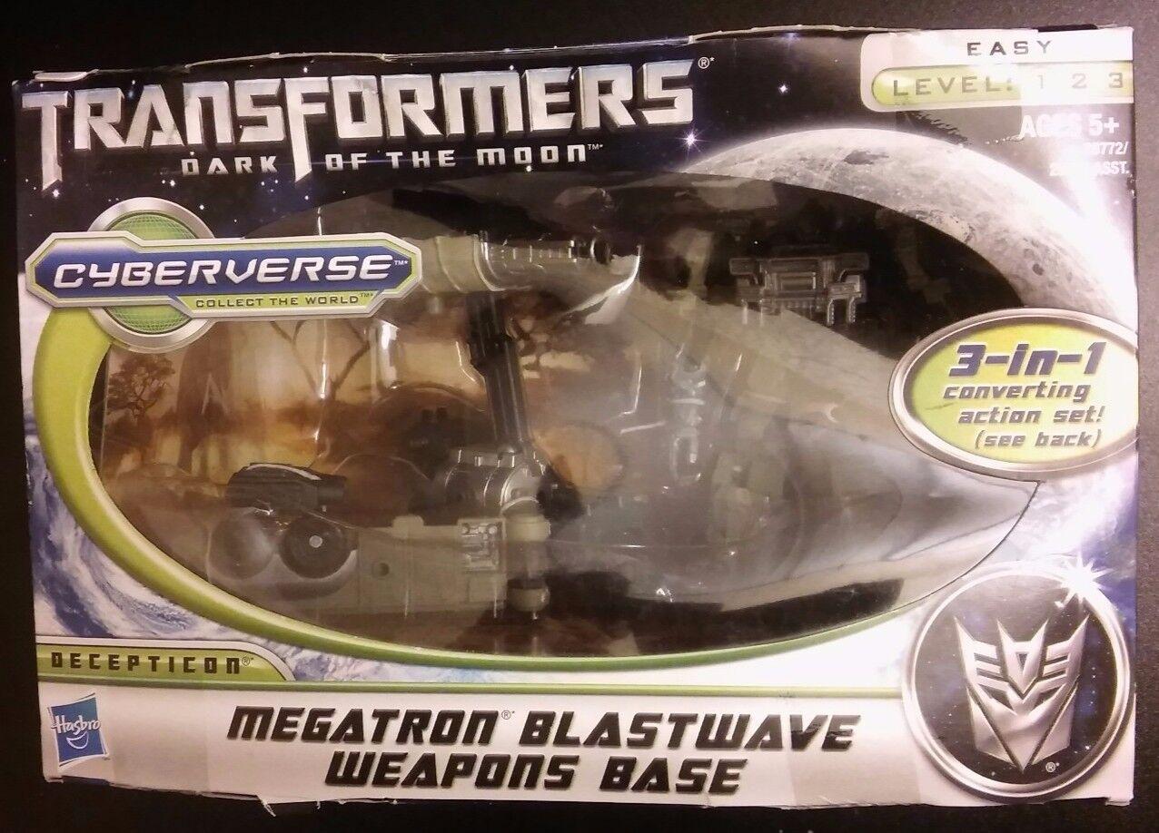 Transformers Dark of the Moon Cyberverse Megatron Blastwave Weapons Base