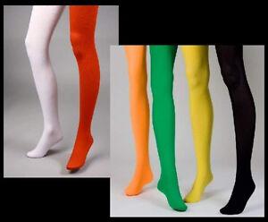 1x-Blickdichte-Strumpfhose-in-6-moeglichen-Farben-Karneval-Fasching-Tanz-Sport