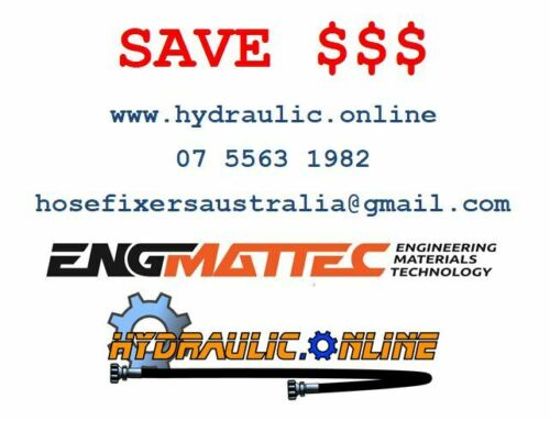 """Hydraulic Hose 3//4/"""" Two Wire 20 Meters SAE100R2-12SC MSHA EUROPEAN MADE 3118 PSI"""